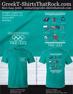 #gogreek #greektshirts #sororityshirts #Fraternityshirts #formal Greek T-Shirts That Rock