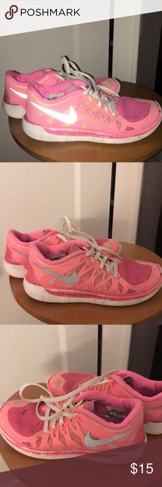 innovative design 0c626 86bb3 Nike Frees nike frees pretty worn but cute. size but could fit a womens Nike  Shoes Sneakers