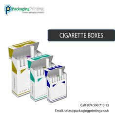 Custom Cigarette Boxes Packaging at Wholsale