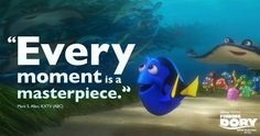 Swim over to theatres and see the movie everyone is talking about: Finding Dory, June 2016