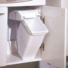The Wesco Shorty Internal Waste Bin with two bin compartments, has ...