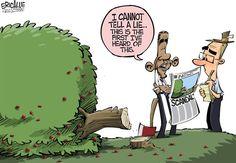 Cartoon: Scandals - http://ontopofthenews.net/2013/06/10/odds-ends/cartoon-scandals-3/