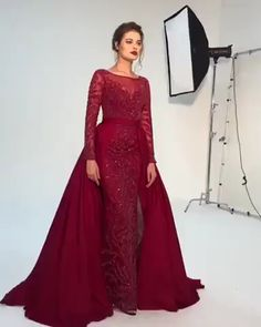 Evening Gowns - Having The Help You Need Make The Wedding A Success Hijab Dress Party, Prom Party Dresses, Hijab Gown, Long Party Gowns, Beaded Evening Gowns, Evening Dresses, Elegant Evening Gowns, Designer Evening Gowns, Muslim Prom Dress