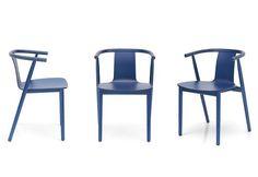 Jasper Morrison Bac Chair Shanghai Blue Lounge Sofa Armchair Furniture Decor