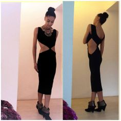Cutting edge dress by AS