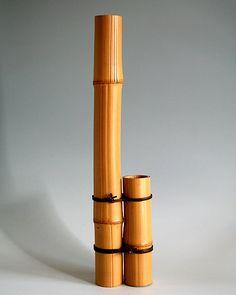 Tanabe Chikuunsai I, Shiborichiku Flower Basket, Tomo Shiraga - BambooTokyo.com - Japanese Bamboo Basket