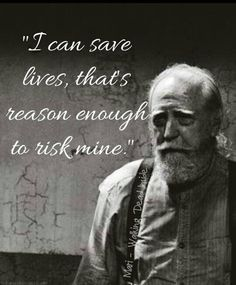 Hershel Greene - Awwwe. I still miss Hershel, hes my all time fave on the show.                                                                                                                                                      More
