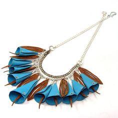 Sara Ganot - Leather by Laser Jewelery