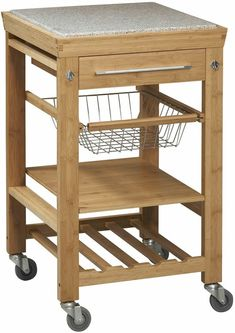 Metal Frame Rustic Kitchen Cart With Wood Tabletops And Shelves Classy Rustic Kitchen Cart Inspiration Design
