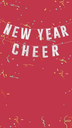 new year cheer banner invitation