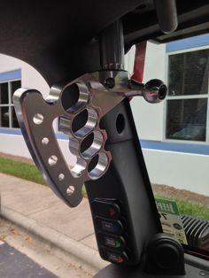 CMM - JK Billet Front Grab Handles - JeepHut