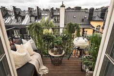 Черно-белый дизайн квартиры в Стокгольме (56 кв. м) | Пуфик - блог о дизайне интерьера