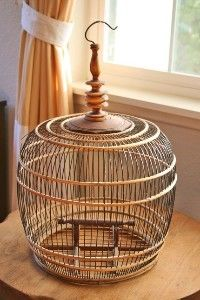 vintage birdcage  Collectible.  Would sell well at auction.