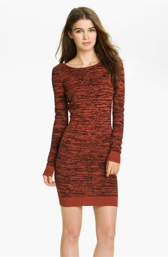Rebecca Minkoff 'Essef' Silk & Cashmere Sweater Dress available at #Nordstrom