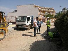La Concejalía de Empleo del Ayuntamiento de Lorca ultima la remodelación de 4.064m2 de tres calles del barrio de San Cristóbal y sus adyacentes