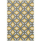 Found it at AllModern - Oasis Gray & Lemon Indoor/Outdoor Area Rug