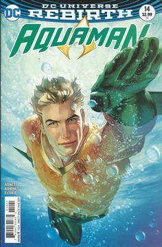 DC Aquaman Universe Rebirth comic issue 14 Limited variant