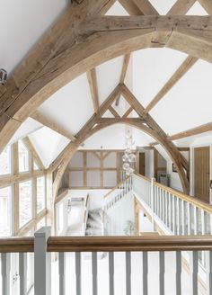 Border Oak vaulted ceiling