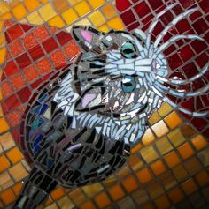 you can win a custom mosaic portrait of yr cat!