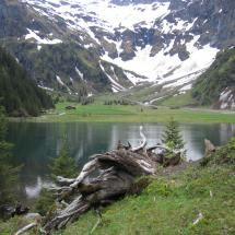 Hintersee near Mittersill in Austria