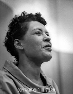 Billie Holiday recording the album Music for Touching, August 25, 1955. S)