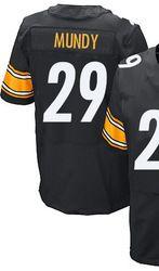 78.00--Mens Nike Pittsburgh Steelers 29 Ryan Mundy Elite Black Team Color  NFL ... 7fec37c5a