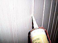 Holzdecke streichen1