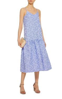 Co Striped Cloqué Midi Dress, $675