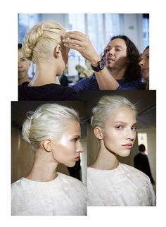 Le chignon bad hair day chez Giambattista Valli http://www.vogue.fr/beaute/en-coulisses/diaporama/la-fashion-week-de-paris-cote-coiffures/15592/image/870094#!le-chignon-bad-hair-day-chez-giambattista-valli