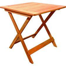 Resultado de imagen para mesa madera plegable
