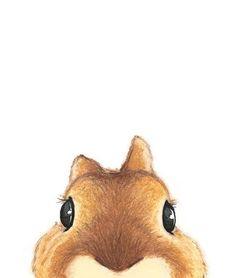 Cute Brown Rabbit Illustration