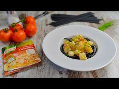 Tiras de Pota com Esparguete Negro - Receitas de Massas - Knorr - YouTube