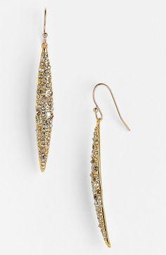 Alexis Bittar 'Miss Havisham' Crystal Encrusted Spear Earrings available at #Nordstrom