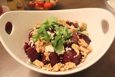 [Recipe] Beet salad with leeks and walnut - Mary's Happy Belly