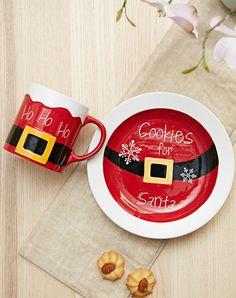Santa cookie plate milk mug and reindeer snacks! Sooooo cute!!!! Love these!!!!! | Christmas | Pinterest | Snacks Santa and Holidays & Santa cookie plate milk mug and reindeer snacks! Sooooo cute ...