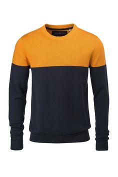 Color Blocked Sweatshirt