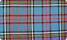 Tartan material from Braeriach Range by Lochcarron, Anderson Ancient
