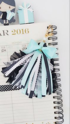 Planner charm by PoshPiecesbyMelissa on Etsy