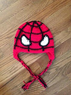 Crochet PATTERN for Superhero Spiderman Inspired Spider Web