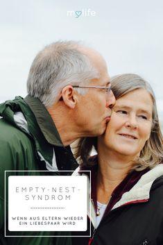 Empty-Nest-Syndrom, verliebt im Alter, verliebte Eltern, Eltern wieder Liebespaar, neu verliebt, wieder verliebt, aus Eltern wird ein Liebespaar