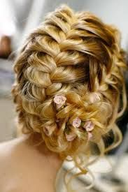 I love this idea for my hair on my wedding day