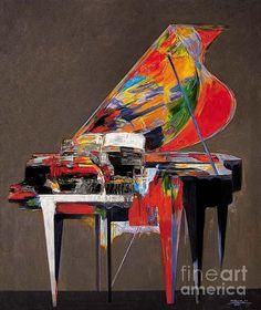 Piano No. 9   by Zheng Li