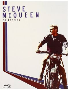 The Steve McQueen Collection (The Great Escape / The Magnificent Seven / The Thomas Crown Affair / The Sand Pebbles) [Blu-ray] Factory sealed DVD Steve Mcqueen Triumph, Steve Mcqueen Style, Steve Mcqueen Motorcycle, Motorcycle Art, The Sand Pebbles, Steeve Mcqueen, T6 California, Motos Vintage, Thomas Crown Affair