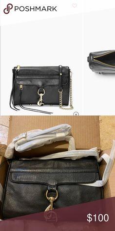 571db08832 Rebecca Minkoff MAC crossbody bag Black Rebecca Minkoff MAC crossbody bag.  Brand new in packaging