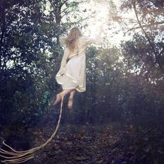 """""""Magic Thief"""" © Natascha van Niekerk We are born to fly to be creatures of transcendence but so often find ourselves trapped, bound just out of reach of the magic Dreamy Photography, Levitation Photography, Photography Tips, Flying Photography, Writing Inspiration, Character Inspiration, Air Magic, Peregrine's Home For Peculiars, Peter And Wendy"""