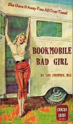 Professional Library Literature : simplebooklet.com - Pulp Fiction, library-style. So much hilarity.