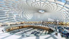 SOM : Tianjin High-Speed Rail Station