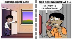 Top 7 des différences entre bourré et (beaucoup) trop bourré en illustrations | Topito