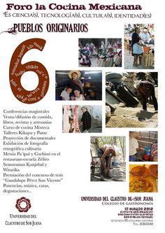 Foro de la cocina Mexicana / Univ. del claustro de Sor Juana / DF / 15 marzo