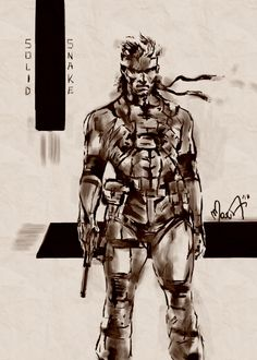I've discovered MARTINA ISERNIa Artwork in the Metal Gear Art Studio. Have a look or choose your own free canvas.